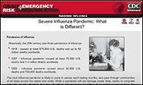 A slide from the CERC Pandemic Influence Online Training.