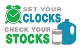 Image, set your clocks, check your stocks